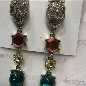 Betsey Johnson Skull earrings nwts